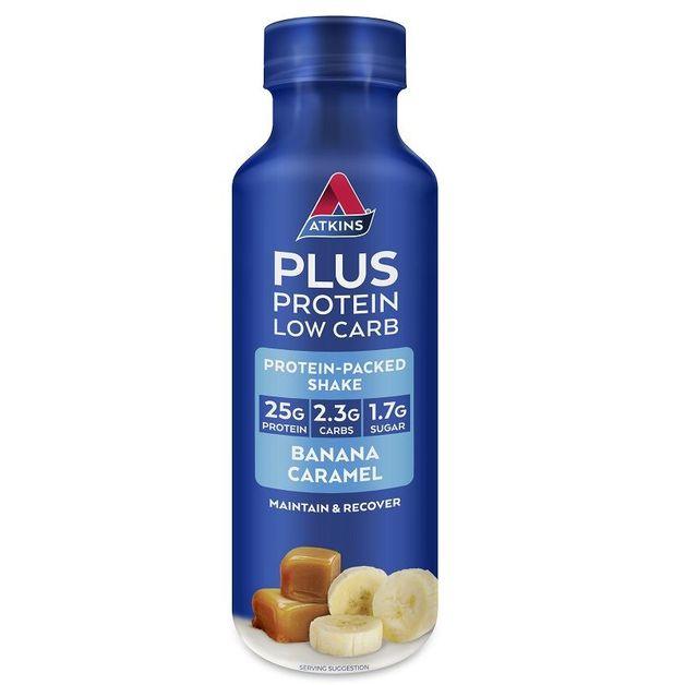 Atkins PLUS Protein-Packed Shake - Banana Caramel (400ml)