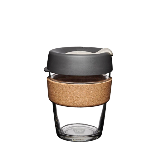 KeepCup Brew Cork - Soft Charcoal Black (12oz – 340ml)