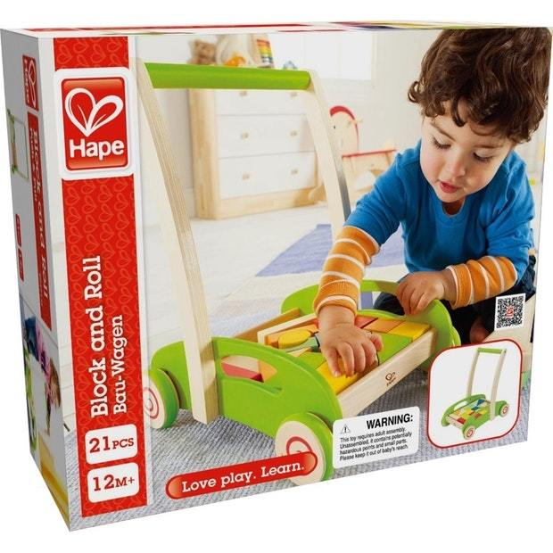 Hape: Block & Roll Walker image