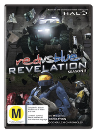 Red vs. Blue - Season Eight: Revelation on DVD