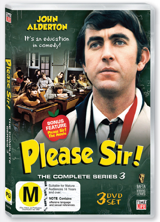 Please Sir! Series 3 (3 Disc Set) on DVD