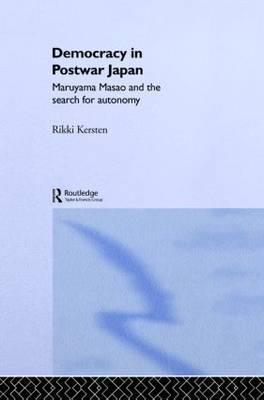 Democracy in Post-War Japan by Rikki Kersten image