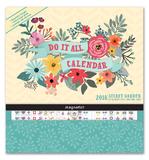 Secret Garden Do It All 2018 Wall Calendar