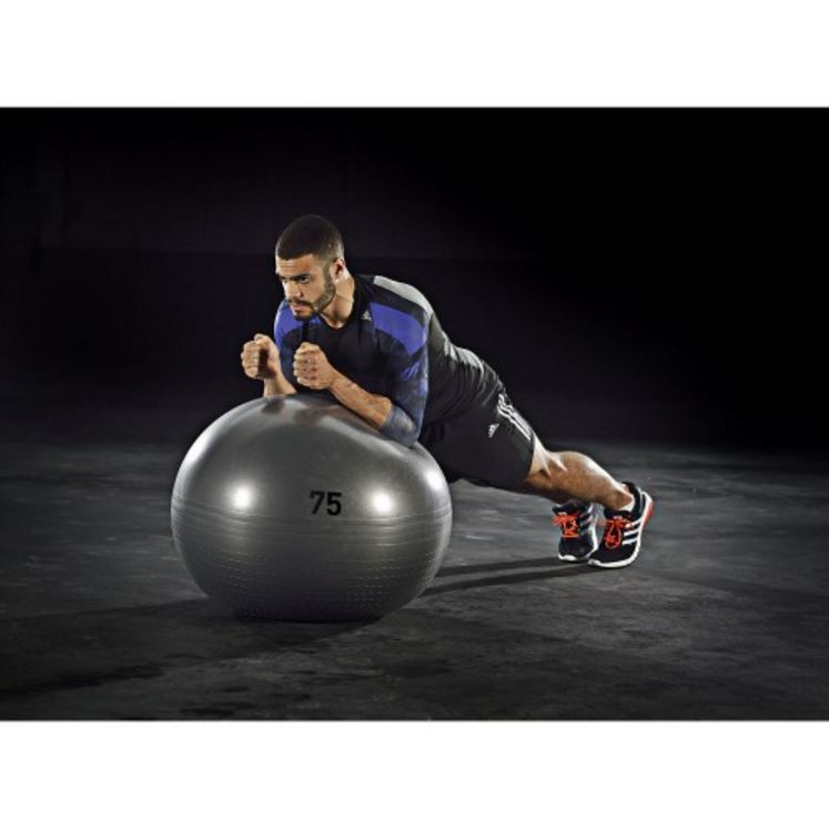 Adidas Gymball - 75cm (Solid Grey) image