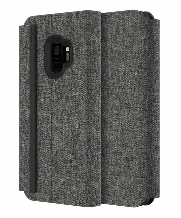 Incipio: Esquire Series Folio Case for Samsung S9 - Grey