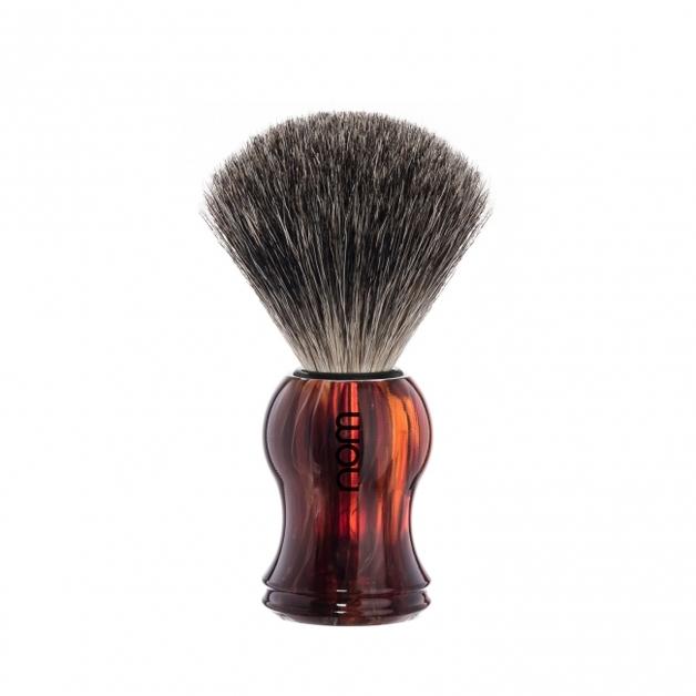 Nom GUSTAV 81 HA Badger Shaving Brush - Tortoiseshell