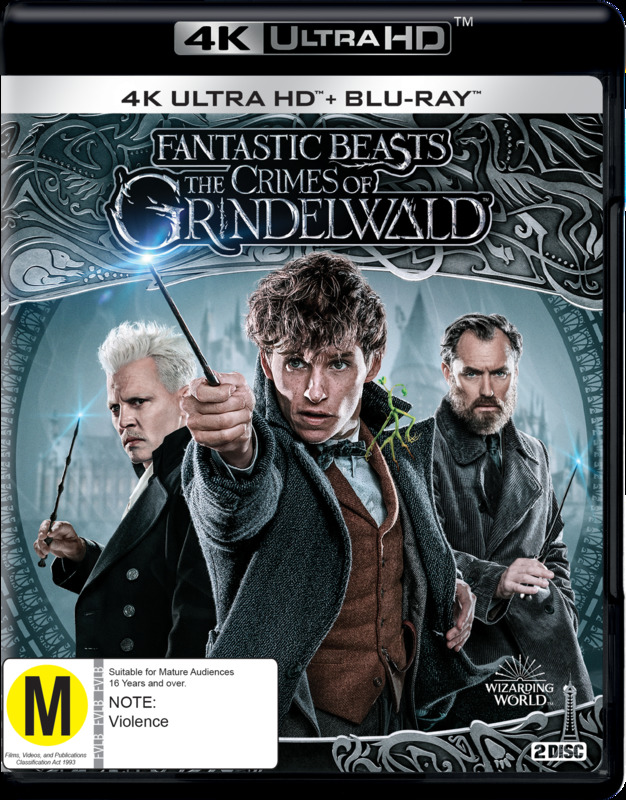 Fantastic Beasts: The Crimes Of Grindelwald on UHD Blu-ray
