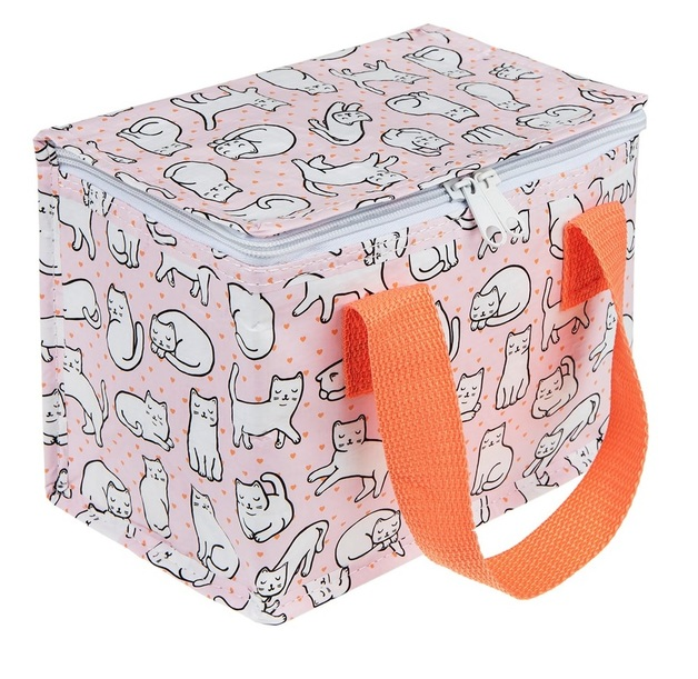 Sass & Belle: Cutie Cat - Lunch Bag