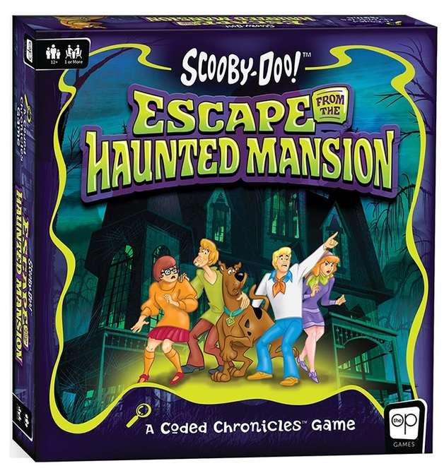 Scooby Doo: Escape from the Haunted Mansion - A Coded Chronicles Games
