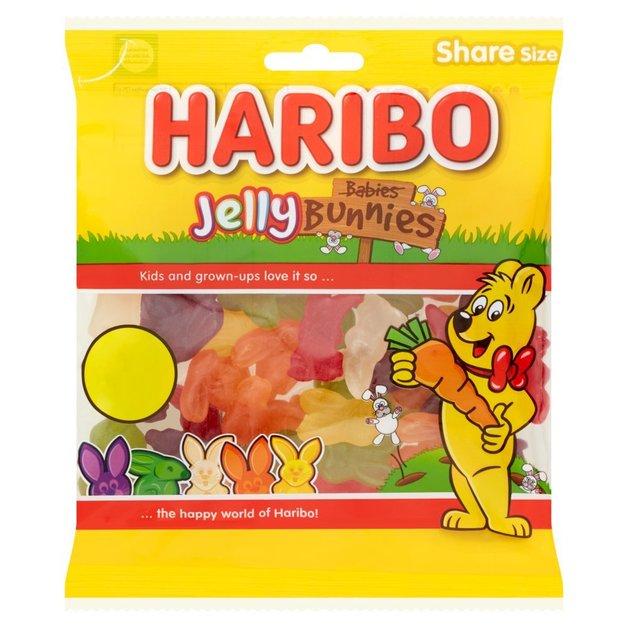 Haribo: Jelly Bunnies - (180g) 12pk