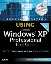 Using Microsoft Windows XP Professional: Special Edition by Brian Knittel image