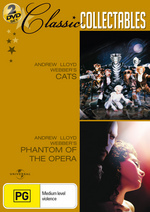 Cats / Phantom Of The Opera (2004) - Classic Collectables (2 Disc Set) on DVD