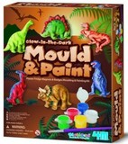 4M: Mould & Paint Kits - Dinosaur Glow