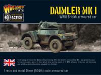 British Army - Daimler Armoured Car