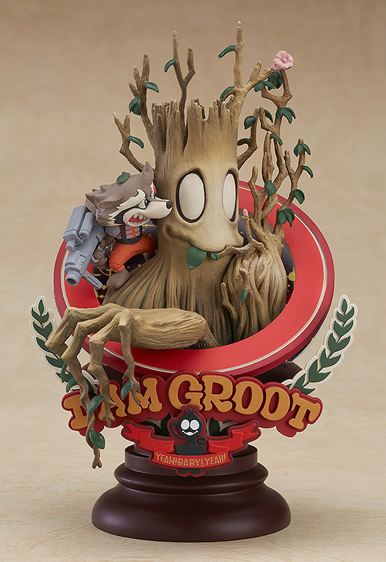 Marvel Manga Variant: Groot (Superlog Ver.) - PVC Figure