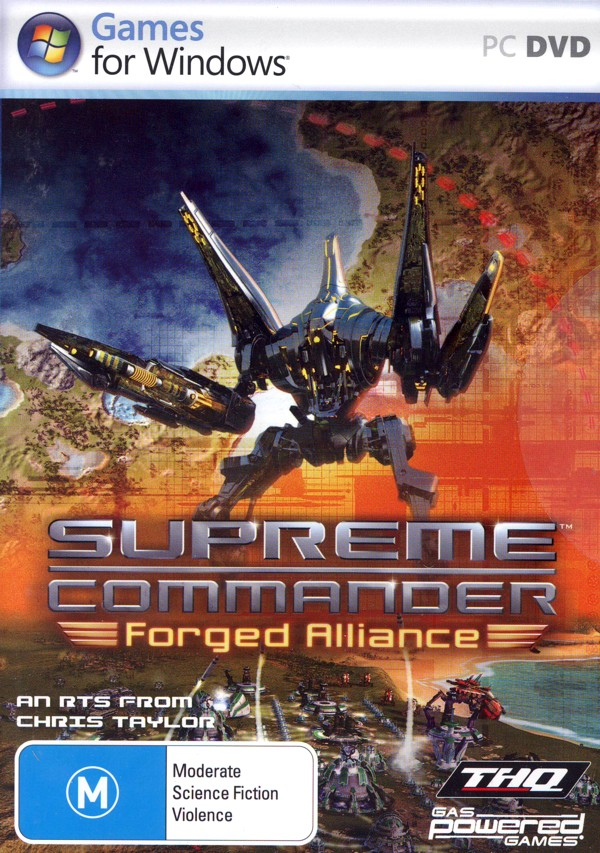 Supreme Commander: Forged Alliance for PC Games image