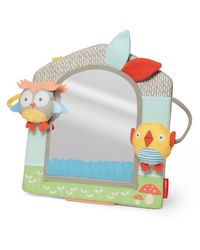 Skip Hop: Treetop Friend Activity Mirror Grey/Pastel