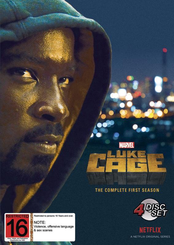 Marvel's Luke Cage - Season 1 on DVD