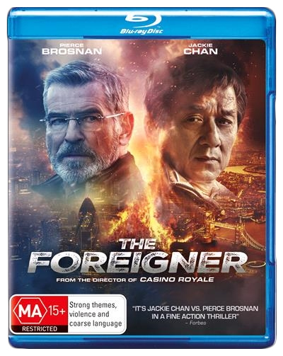 The Foreigner on Blu-ray image
