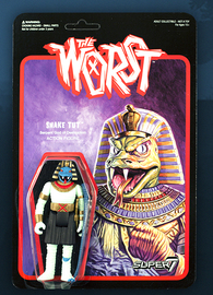 The Worst: Graveyard Shift - Snake Tut Retro Action Figure
