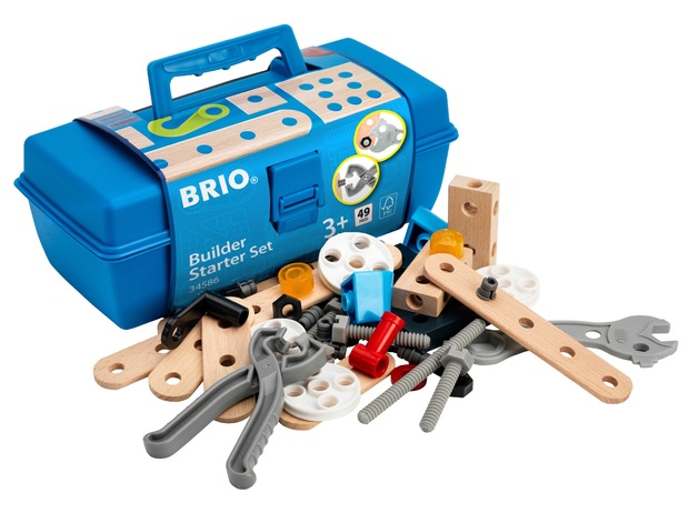 Brio: Builder - Starter Set (49 pieces)