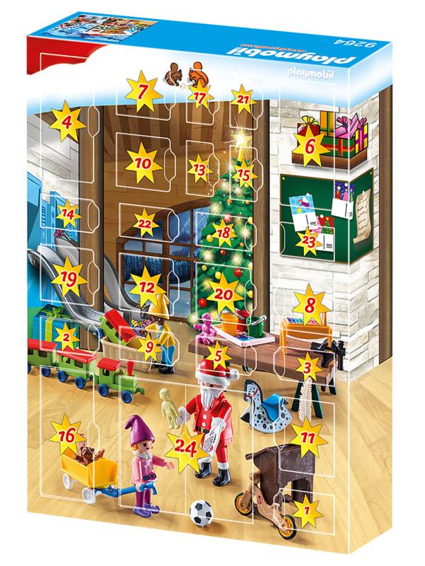 Playmobil: Advent Calendar - Santas Workshop (9264)