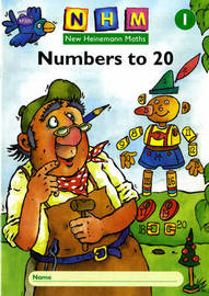 New Heinemann Maths Yr1, Number to 20 Activity Book (8 Pack) image