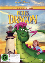 Pete's Dragon (1977) on DVD image