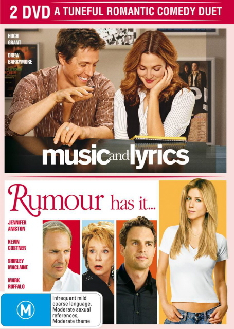 Music And Lyrics / Rumour Has It (2 Disc Set) on DVD