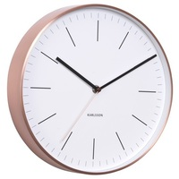 Karlsson Minimal Wall Clock - White