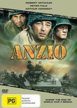 Anzio on DVD