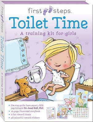 First Steps Ready to Go Toilet Time for Girls
