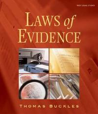 Laws of Evidence by Thomas Buckles image