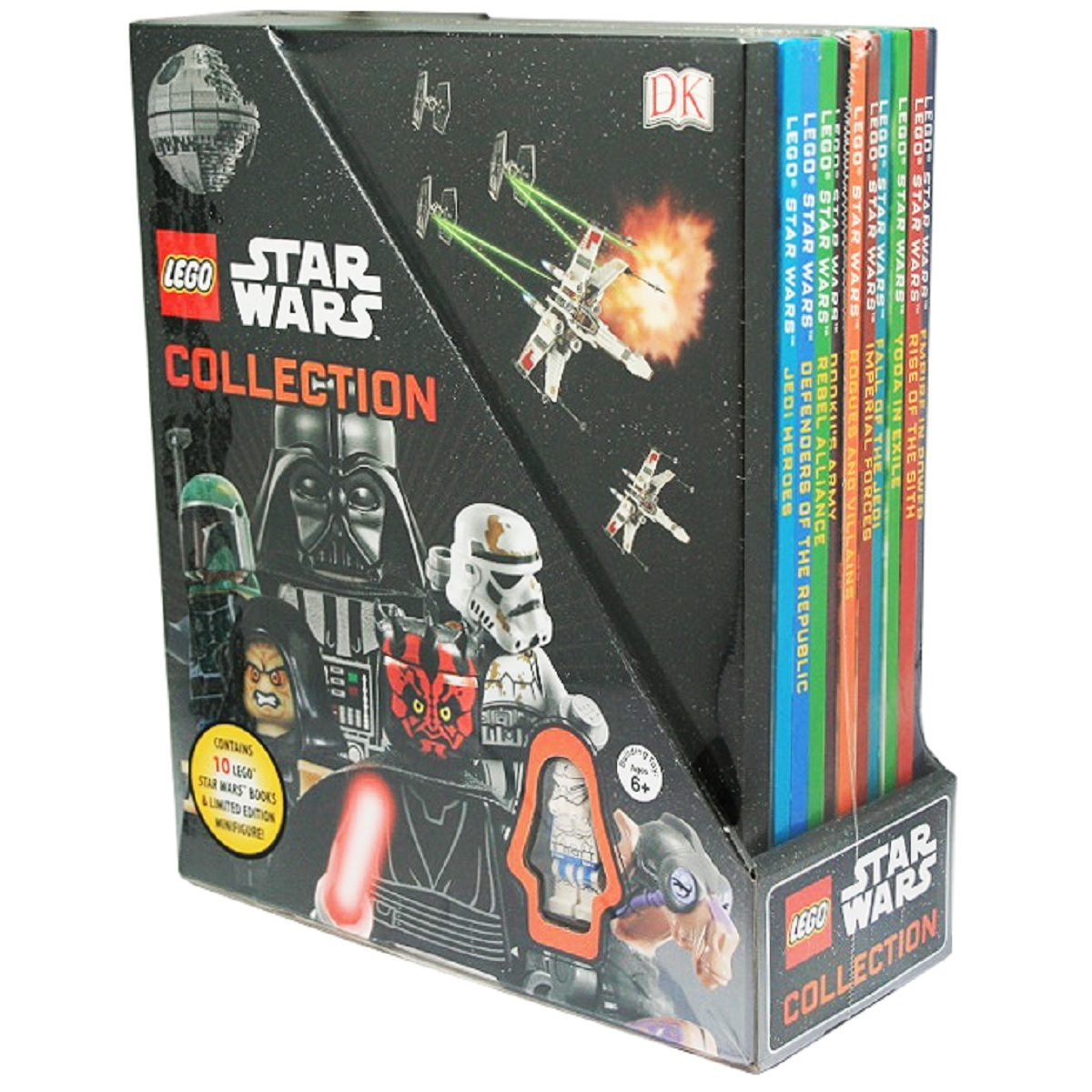 Lego Star Wars Collection 10 Book Set On Sale Now At Mighty