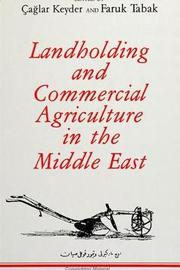 Landholding and Commercial Agriculture in the Middle East image