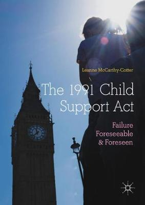The 1991 Child Support Act by Leanne McCarthy-Cotter image