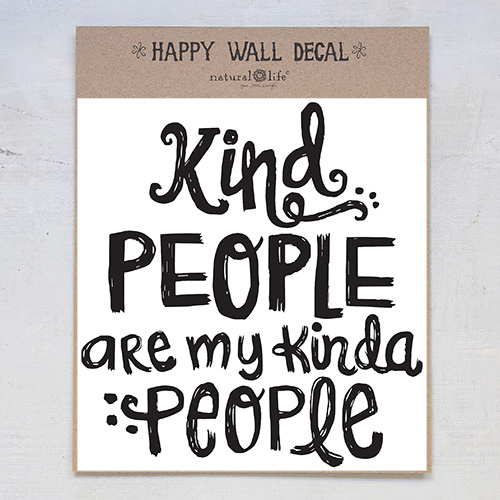 Natural Life: Wall Decal - Kind People image