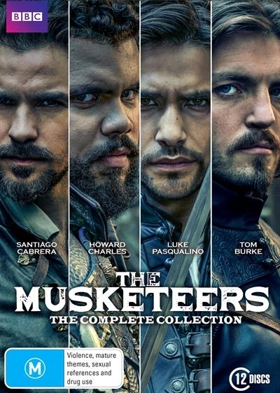 Musketeers The Complete Collection on DVD
