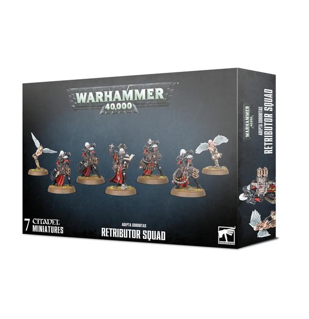 Warhammer 40,000: Adepta Sororitas Retributor Squad