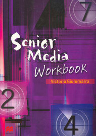Senior Media Workbook for VCE Media Units 1 and 2 by Victoria Giummarra image