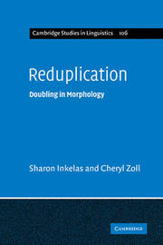 Reduplication by Sharon Inkelas image