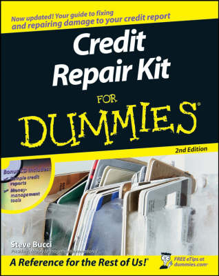 Credit Repair Kit For Dummies by Stephen R Bucci image
