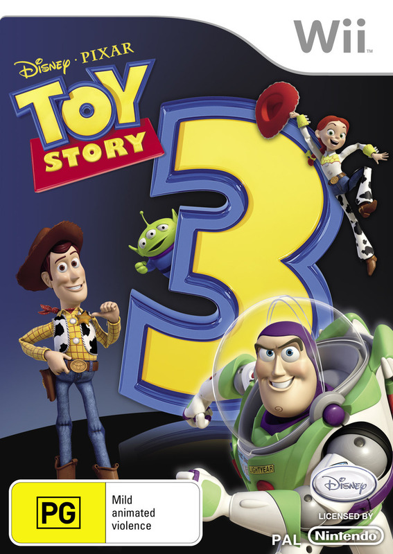 Toy Story 3: The Video Game for Wii