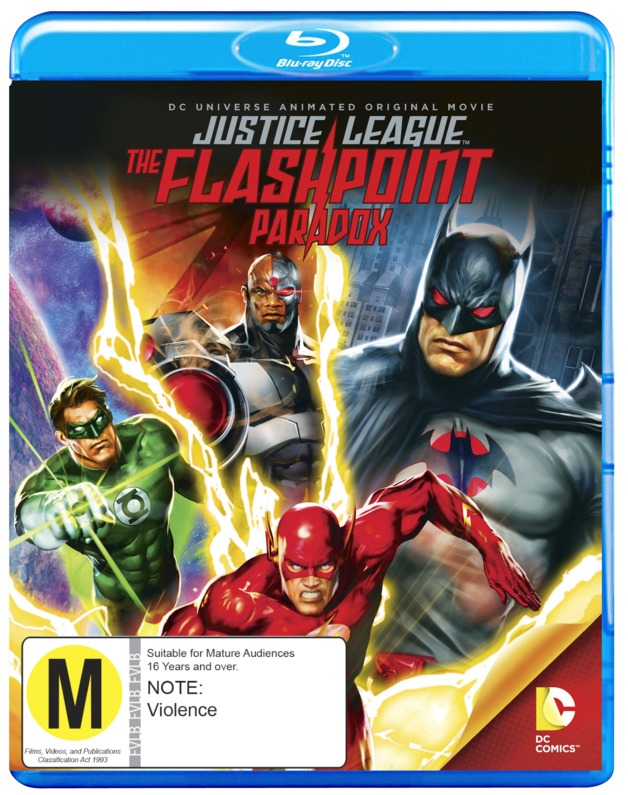 Justice League: The Flashpoint Paradox on Blu-ray