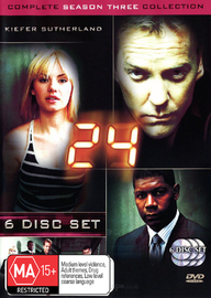 24 - Season 3 on DVD