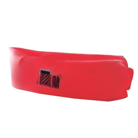 Chillsax Inflatable Air Lounger Red At Mighty Ape Nz