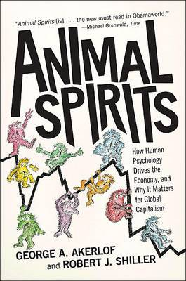 Animal Spirits by George A Akerlof image