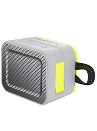 Skullcandy Barricade Bluetooth Speaker - Gray/Charcoal/Hot Lime