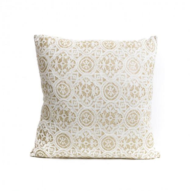 Gold & Lace Cushion