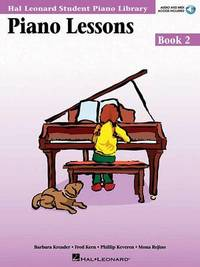 Piano Lessons Book 2 - Book/CD Pack: Hal Leonard Student Piano Library by Snyder Audrey